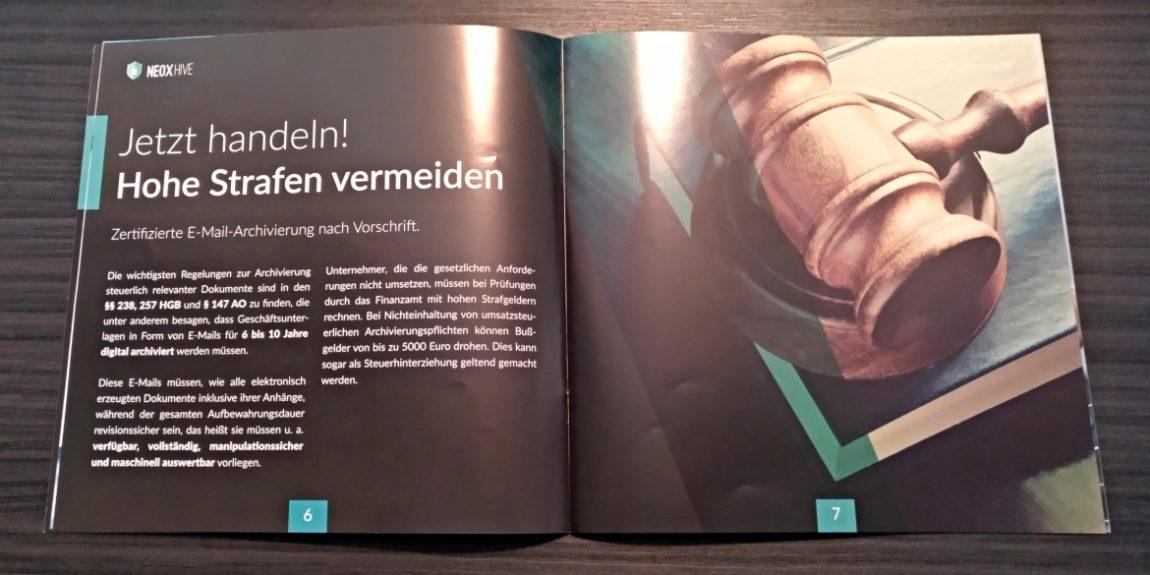 Broschüre NeoxHive
