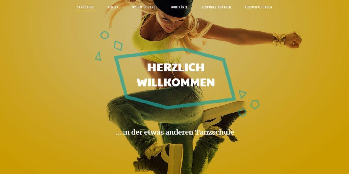 Screenshot Webseite Tangothek