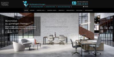 Screenshot Webseite h kb Büroeinrichtungen