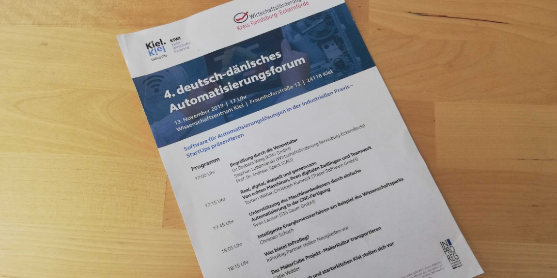 DEUTSCH-DÄNISCHES AUTOMATISIERUNGSFORUM IN KIEL