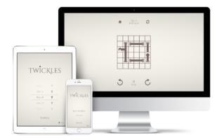 Mockups Twickles für Desktop, Tablet & Smartphone