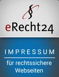 Logo eRecht24 Impressum