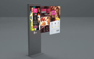 Digital Signage 3D Visualisierung