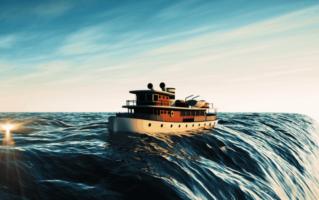 3D Visualisierung Schiff