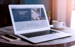 Mockup Webseite FinaCon