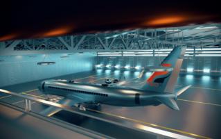 VR-Anwendung Flugezeug