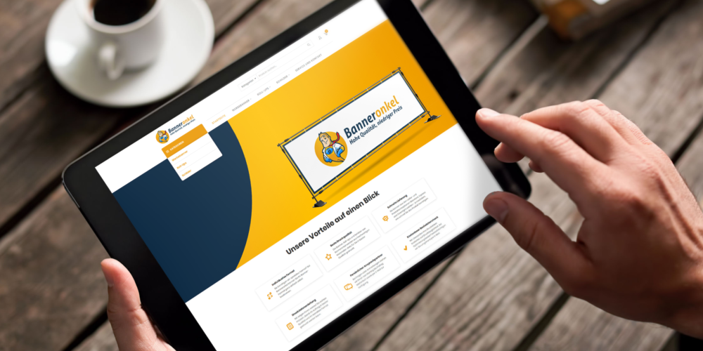 Mockup Webdesign Banneronkel.de