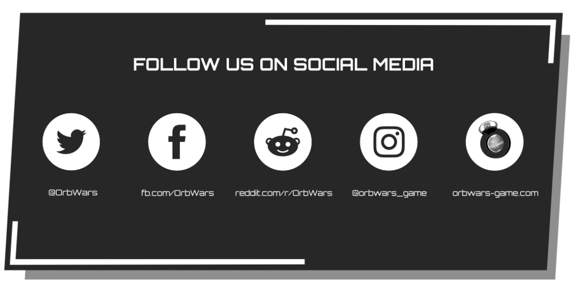 OrbWars – Folge uns auf Social Media!