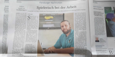 Neox im Flensburger Tageblatt